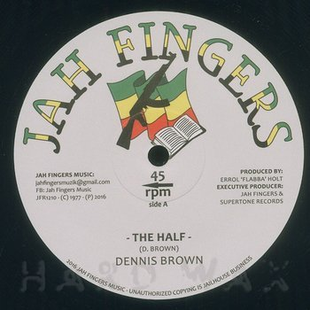 Cover art - Dennis Brown: The Half