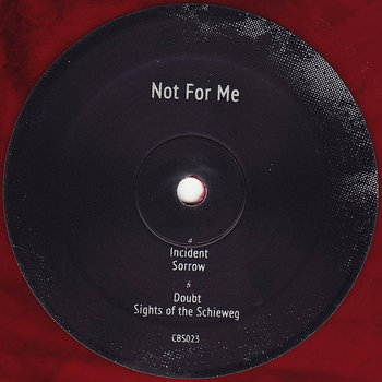 Cover art - Vernon Felicity: Not For Me