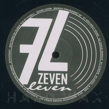 Cover art - Zeven Leven: Marius Strijdhorst EP