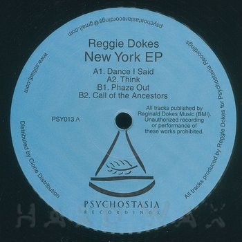 Cover art - Reggie Dokes: New York EP