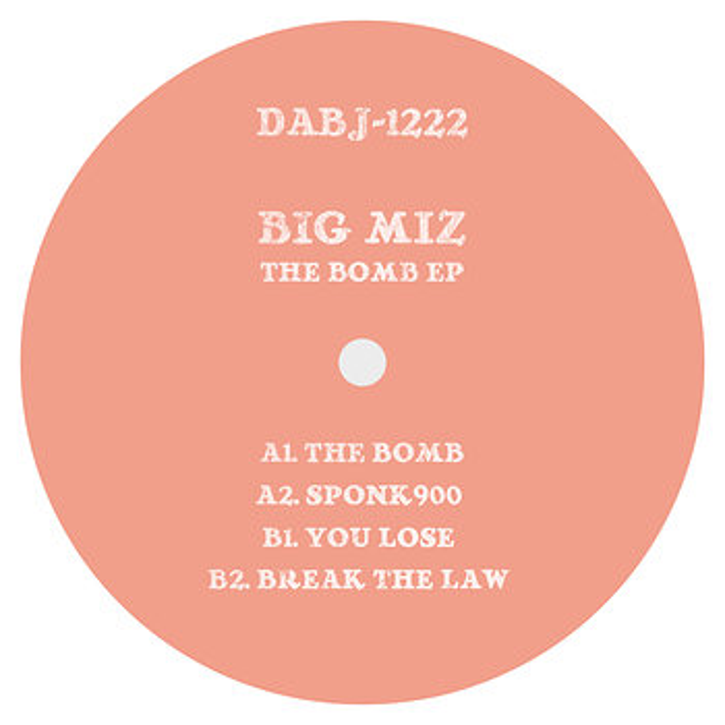 Cover art - Big Miz: The Bomb