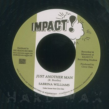 Cover art - Sabrina Williams: Just Another Man