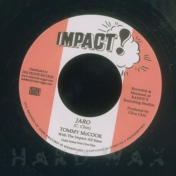 Cover art - Tommy McCook: Jaro