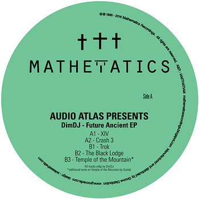 Cover art - DimDJ: Future Ancient EP