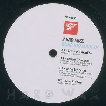 Cover art - 2 Bad Mice: Gone Too Soon