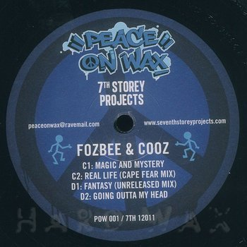 Cover art - The Matchstick Man / Fozbee & Cooz : 7 Track EP