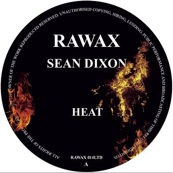 Cover art - Sean Dixon: Heat