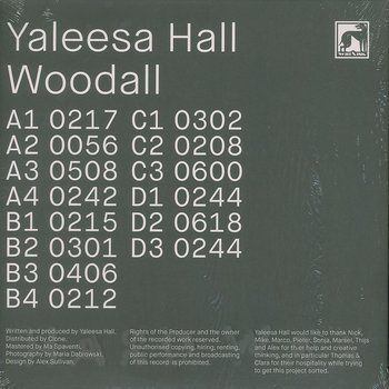 Cover art - Yaleesa Hall: Woodall