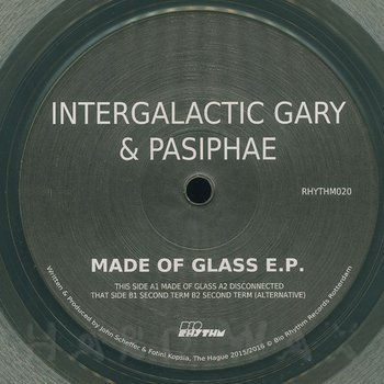 Cover art - Intergalactic Gary & Pasiphae: Made Of Glass EP
