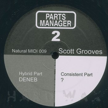 Cover art - Scott Grooves: Parts Manager 2