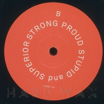 Cover art - Grebenstein: Strong Proud Stupid And Superior