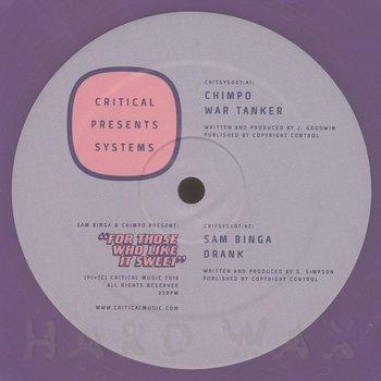 Cover art - Sam Binga & Chimpo: For Those Who Like It Sweet