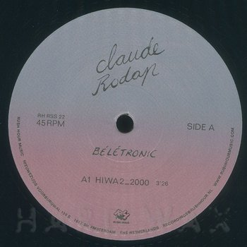 Cover art - Claude Rodap: Beletronic