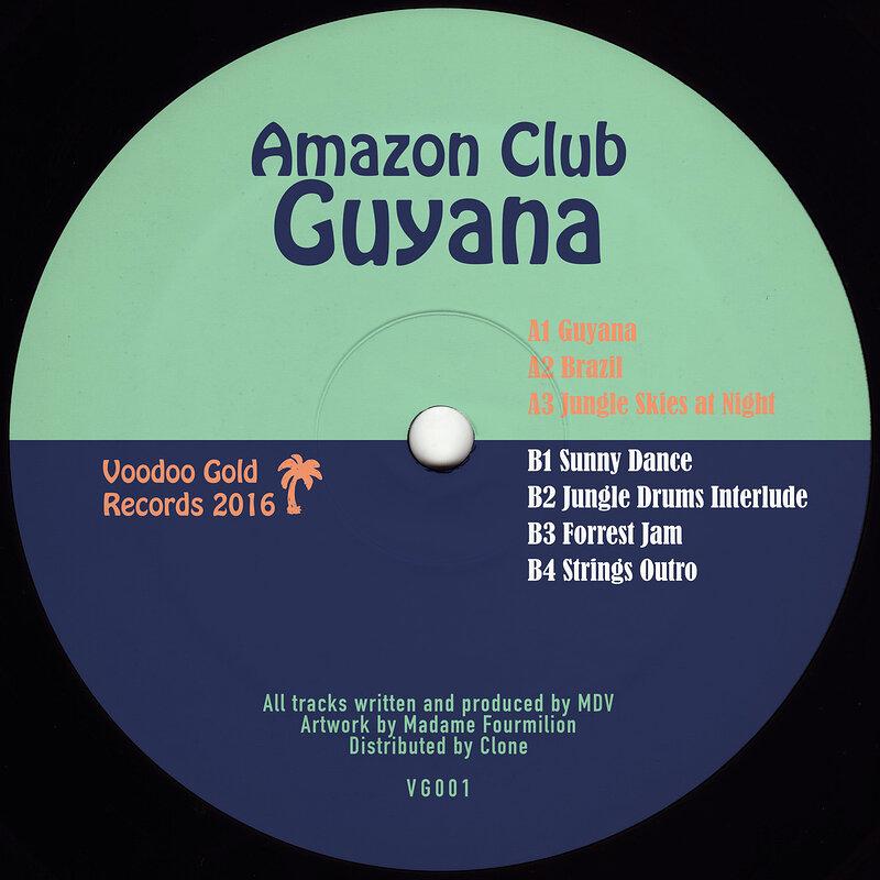 Cover art - Amazon Club: Guyana