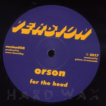 Cover art - Orson: For The Head