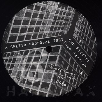 Cover art - Theo Parrish: Gentrified Love Part 1
