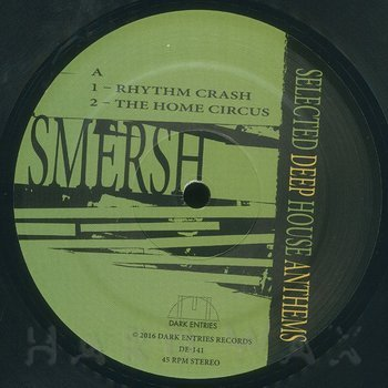 Cover art - Smersh: Selected Deep House Anthems