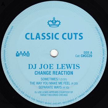 Cover art - DJ Joe Lewis: Change Reaction