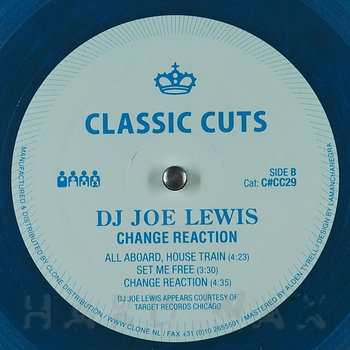 Cover art - DJ Joe Lewis: Change Reaction