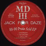 Cover art - MD III: 88-90 Proto Acid EP
