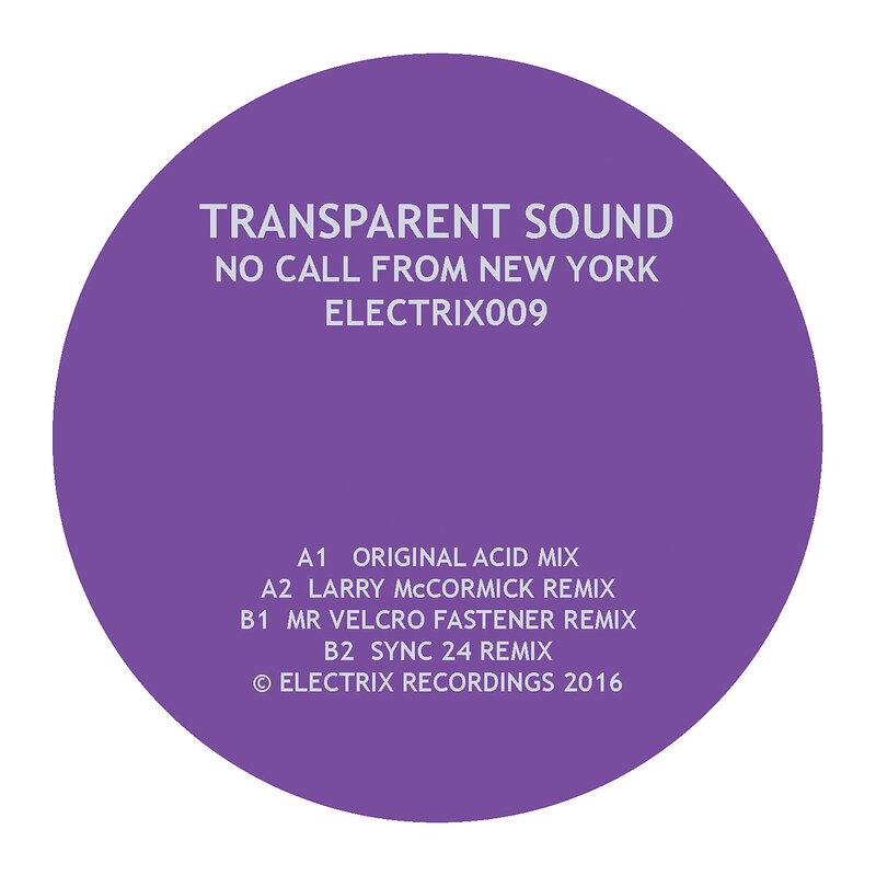 Cover art - Transparent Sound: No Call From New York
