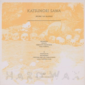 Cover art - Katsunori Sawa: Secret Of Silence
