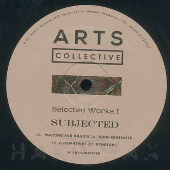 Cover art - Subjected: Selected Works I