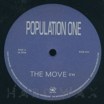 Cover art - Population One: The Move
