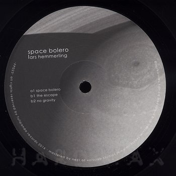 Cover art - Lars Hemmerling: Space Bolero