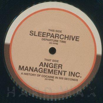 Cover art - Anger Management Inc. / Sleeparchive: Split