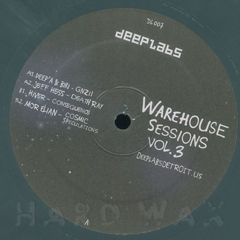 Cover art - Various Artists: Warehouse Sessions Vol. 3