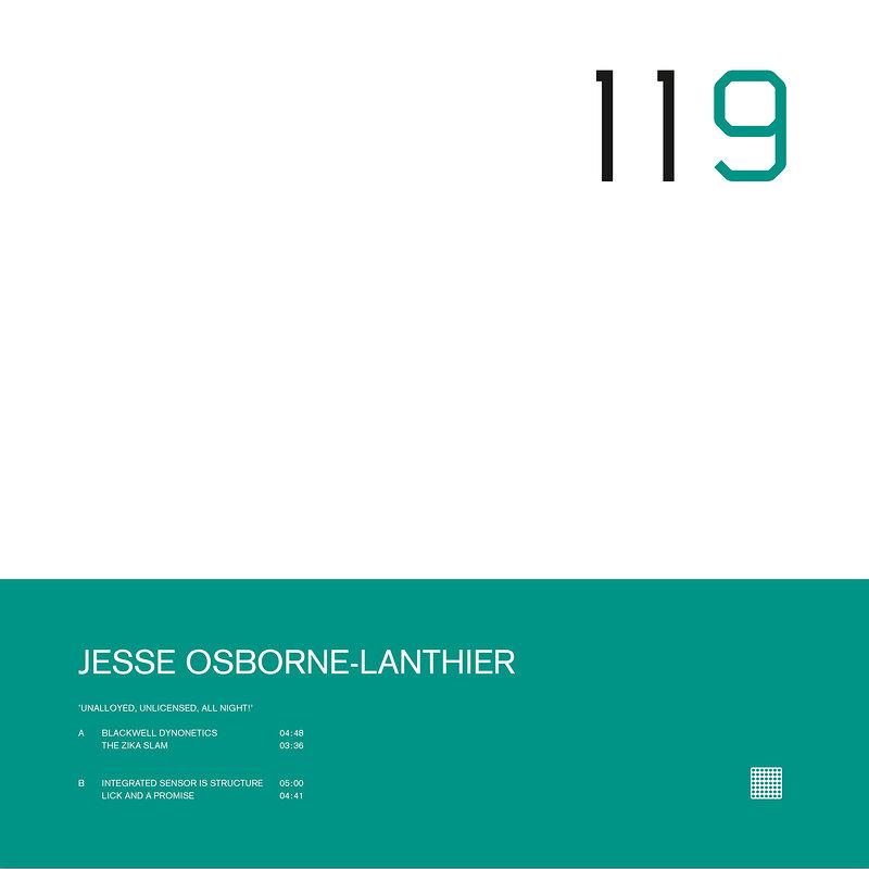 Cover art - Jesse Osborne-Lanthier: Unalloyed, Unlicensed, All Night!
