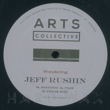 Cover art - Jeff Rushin: Wondering