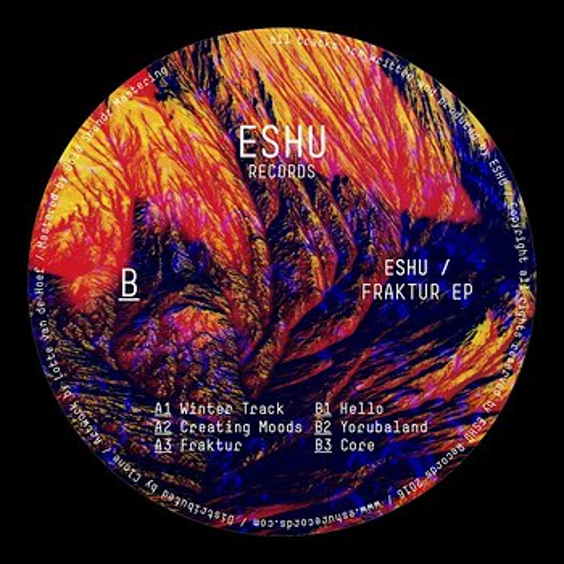 Cover art - Eshu: Fraktur EP