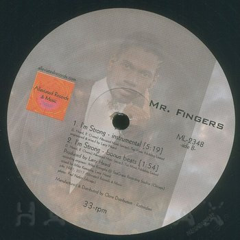 Cover art - Fingers Inc.: I'm Strong