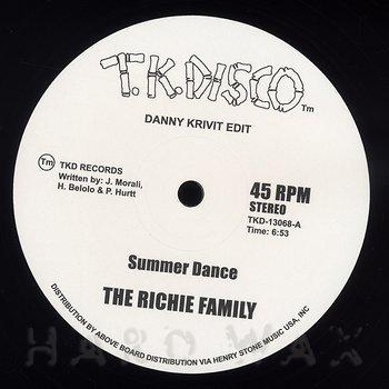 Cover art - Richie Family: Summer Dance (Danny Krivit Edit)