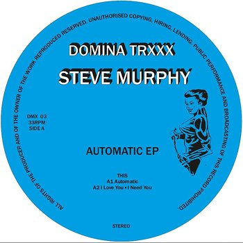 Cover art - Steve Murphy: Automatic EP