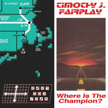 Cover art - Timothy J. Fairplay: Where Is The Champion?