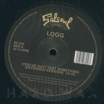 Cover art - Logg: (You've Got) That Something (Extended Version)