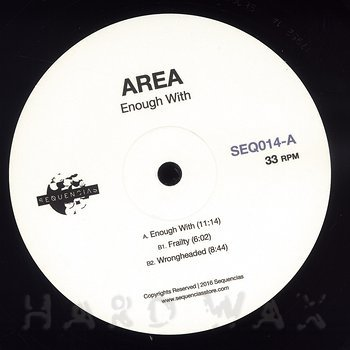 Cover art - Area: Enough With