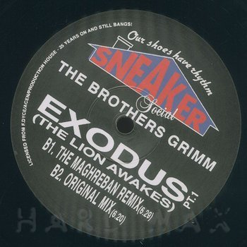 Cover art - The Brothers Grimm: Exodus (The Lion Awakes) Remixes 1