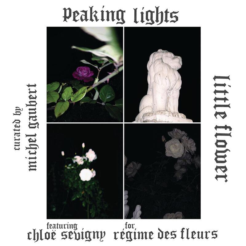 Cover art - Peaking Lights: Little Flower