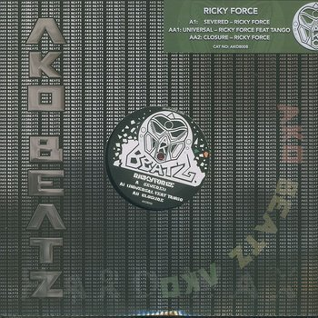 Cover art - Ricky Force: Severed