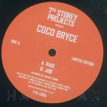 Cover art - Coco Bryce: Raid