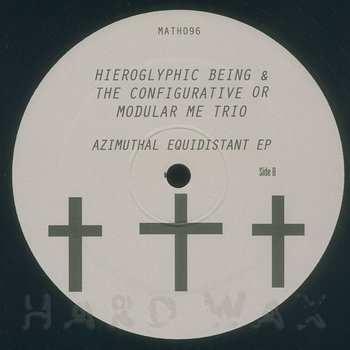 Cover art - Hieroglyphic Being: Azimuthal Equidistant EP
