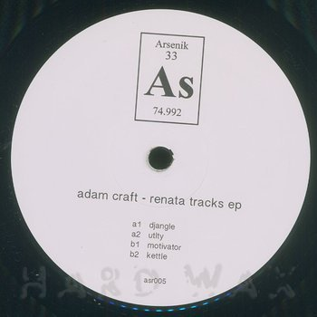Cover art - Adam Craft: Renata Tracks