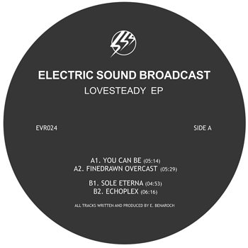 Cover art - Electric Sound Broadcast: Lovesteady EP