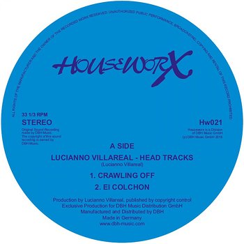 Cover art - Lucianno Villarreal: Head Tracks