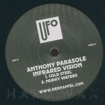 Cover art - Anthony Parasole: Infrared Vision