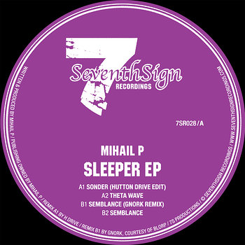 Cover art - Mihail P: Sleeper EP